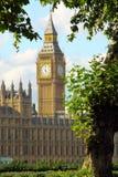 Londen, de Big Ben Royalty-vrije Stock Afbeeldingen