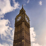 Londen de Big Ben Stock Fotografie