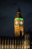 Londen de Big Ben in Engeland het UK stock foto
