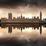 Londen - de Huizen van het Parlement Royalty-vrije Stock Afbeelding