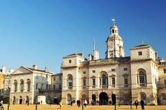 Londen - de Koninklijke Wachten van het Paard Stock Foto's