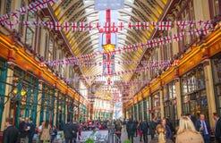 Londen De Markt van Leadenhall Stock Afbeelding