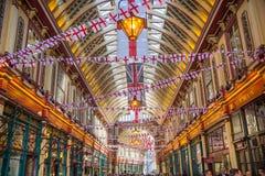 Londen De Markt van Leadenhall Stock Fotografie