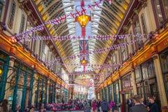 Londen De Markt van Leadenhall Royalty-vrije Stock Fotografie