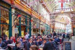 Londen De Markt van Leadenhall Royalty-vrije Stock Afbeelding