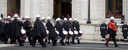 Londen - de Parade van de Herinnering stock afbeelding
