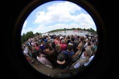 Londen - een Dag van Olympics 2012 Royalty-vrije Stock Fotografie