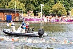 Londen - een Dag van Olympics 2012 Royalty-vrije Stock Foto's