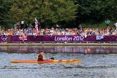 Londen - een Dag van Olympics 2012 Stock Foto