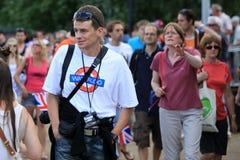 Londen - een Dag van Olympics 2012 Stock Afbeelding