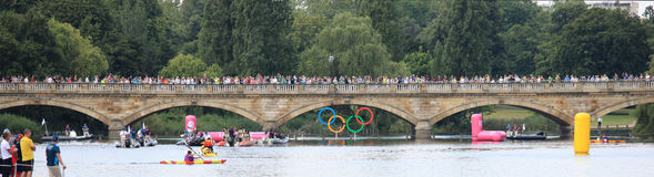 Londen - een Dag van Olympics 2012 Stock Foto's