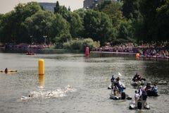 Londen - een Dag van Olympics 2012 Royalty-vrije Stock Afbeelding