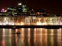 Londen Embarkment stock fotografie