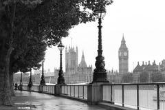 Londen en Big Ben stock foto's