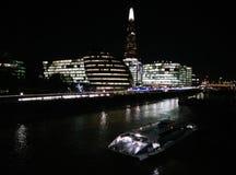 Londen en de lichten royalty-vrije stock foto