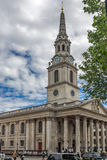 LONDEN, ENGELAND - JUNI 16 2016: St Martin-in-de-Gebieden kerk, Londen, Engeland, Groot-Brittannië Royalty-vrije Stock Afbeeldingen