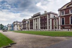 LONDEN, ENGELAND - JUNI 17 2016: Universiteit van Greenwich, Londen, het Verenigd Koninkrijk stock afbeeldingen