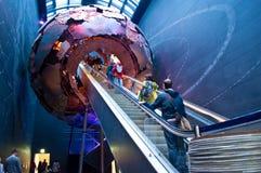 Londen, het Museum van de Biologie Royalty-vrije Stock Afbeeldingen