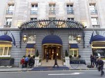 Het hotel Ritz waar Margaret Thatcher is gestorven stock afbeeldingen