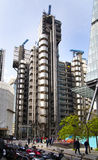 LONDEN, HET UK - 24 APRIL, 2014: Stad van Londen één van de belangrijke centra van globale financiën, hoofdkwartier voor belangri Stock Foto
