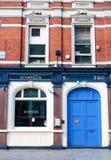 Londen, het UK - 18 Augustus, 2010: buitenmening van een traditionele Lond Royalty-vrije Stock Fotografie