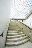 29 07 2015, LONDEN, het UK - British Museum-mening en details Royalty-vrije Stock Fotografie
