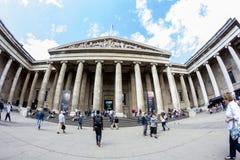 29 07 2015, LONDEN, het UK - British Museum-mening en details Stock Foto