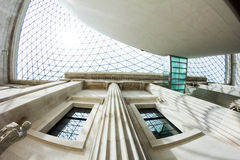 29 07 2015, LONDEN, het UK - British Museum-mening en details Royalty-vrije Stock Foto