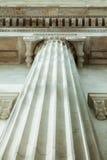LONDEN, het UK - British Museum-mening en details Royalty-vrije Stock Afbeelding