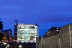 27 07 2015, Londen het UK De nachten van Londen Stock Foto