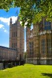 LONDEN, HET UK - 14 JUNI, 2014: De abdij van Westminster Stock Afbeelding