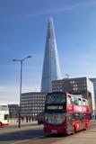 LONDEN, het UK - 29 MAART, de Scherf van 2014 van glas Royalty-vrije Stock Foto's