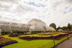 28 07 2015, LONDEN, het UK, Mening van Kew-Tuinen Stock Foto's