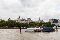 22 07 2015, LONDEN, HET UK Mening van Londen van het Oog van Londen Stock Afbeelding