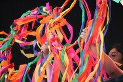 Londen, het UK 16 Oktober, 2016 De Burgemeester van het Festival van Londen van de uitvoerders en de scènes van Dewali in Trafalg Stock Afbeeldingen