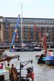 Londen, het UK. 1 September, 2013. Clipper om de Wereld Yac Stock Foto's
