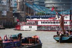 Londen, het UK. 1 September, 2013. Clipper om de Wereld Yac Royalty-vrije Stock Afbeeldingen