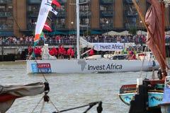 Londen, het UK. 1 September, 2013. Clipper om de Wereld Yac Stock Foto