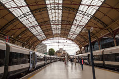 28 07 2015 LONDEN, het UK - Victoria-postmening Royalty-vrije Stock Afbeeldingen