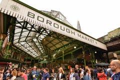 Londen, het Verenigd Koninkrijk, Juni 2018 De markt van de stad royalty-vrije stock foto