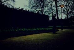 Londen, het Verenigd Koninkrijk naast London Eye stock afbeelding