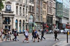 Londen - Hoog Holborn Stock Foto's