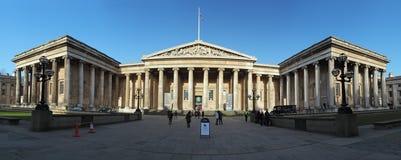 LONDEN - 5 JANUARI: British Museum in Londen, Engeland op Januari Stock Foto's