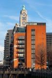 LONDEN - JANUARI 27: OXO Toren op Southbank in Londen op Ja Stock Afbeelding