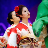 2013, Londen Japan Matsuri Royalty-vrije Stock Afbeelding
