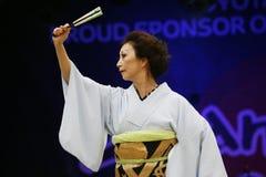 2013, Londen Japan Matsuri Royalty-vrije Stock Afbeeldingen