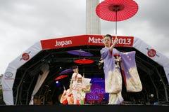 2013, Londen Japan Matsuri Royalty-vrije Stock Fotografie