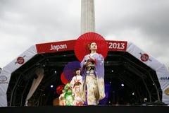 2013, Londen Japan Matsuri Stock Afbeelding