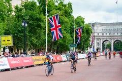 LONDEN - JULI 30: De Gebeurtenis van ritlonden in Londen op 30 Juli, 2017 Stock Afbeelding