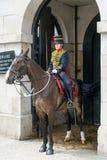 LONDEN - JULI 30: De koningen verzamelen zich Koninklijke Paardartillerie in Whitehal Royalty-vrije Stock Foto